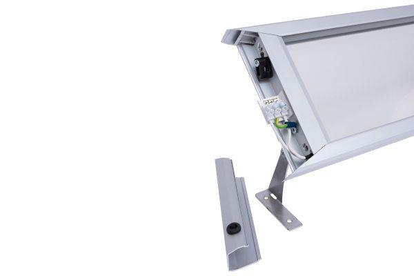 Infrared Heater ILMIT TGlass-5 Connectors
